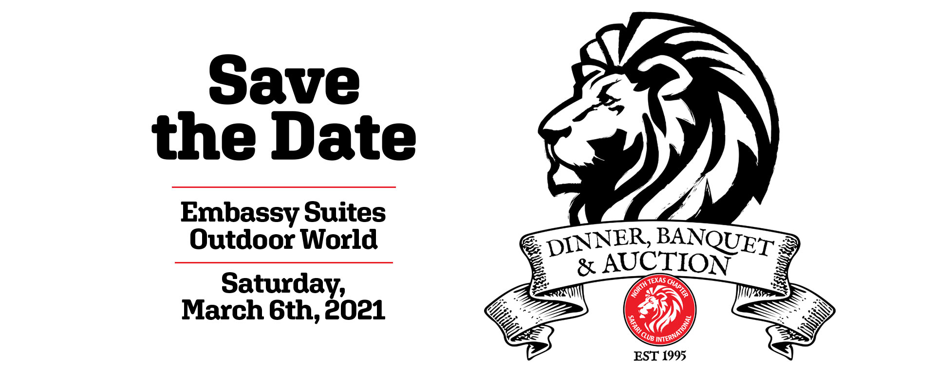 North Texas Chapter Safari Club International 2018 Banquet Dinner and Auction